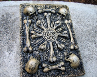 Skull And Bones Wall Plaque Skull Home Decor Sedlec Ossuaries Inspired Plaque Good