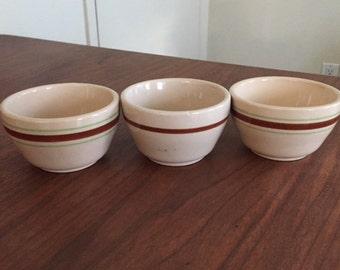 Vintage Tepco Bowls (Set of 3)