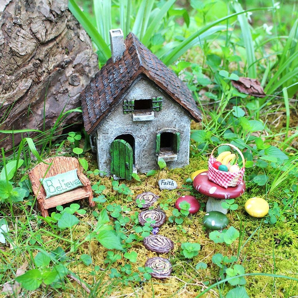 fairy garden kit cozy cottage fairy garden