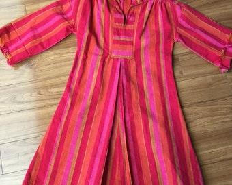 Vintage textile dress