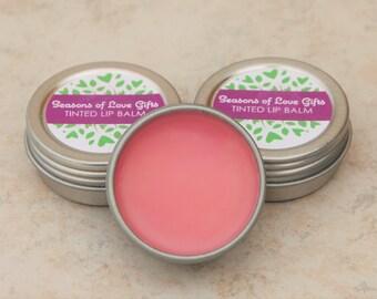 Lip Gloss - Tinted Lip Balm - Lip Balm - Natural Lip Balm - Lip Butter  - Lip Tint - All Natural Lip Balm - Gift for Her - Teen Gift - Lips