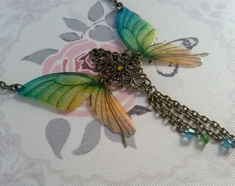 Beautiful Y Butterfly Necklace