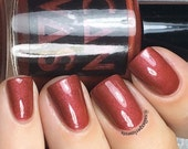 Be Like Barb by CANVAS lacquer - a marsala inspired shade