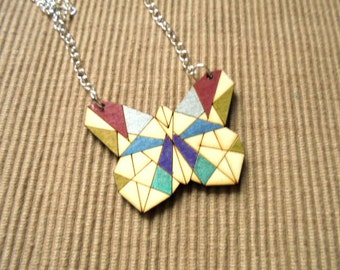 Necklace, Butterfly (1038)