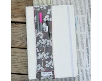 Notebook pen holder - Dill