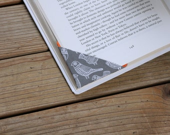 MTO 2 corner bookmarks - Birds