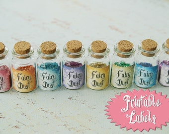 Fairy Dust Labels INSTANT DOWNLOAD