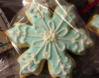 Snowflake Sugar Cookies (1 Dozen)