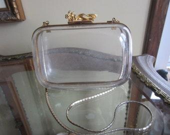 Vintage Judith Lieber Lucite Handbag