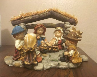 8 piece Child Nativity Set by Holiday Living