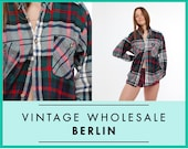 Vintage wholesale FLANNEL SHIRT, woodland, bohemian, hiking, soft, boho, 80s, 90s, bulk lot prices, ready for wear or resale ID: 8415