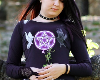 PENTAGRAM - Original Gothic Hand Painted Shirt