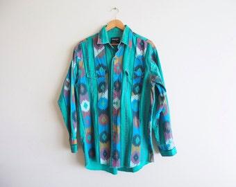 SALE vintage Wrangler rodeo shirt