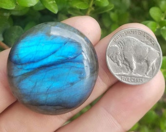 Blue Labradorite Cabochon - 4q