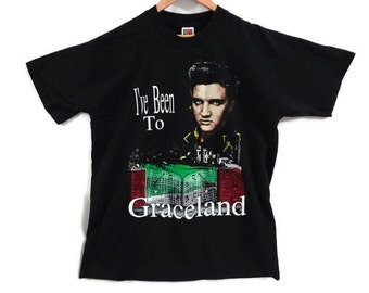 1992 Graceland Tee - Elvis Presley Tshirt - XL - Vintage Elvis Tee - Vintage Tees - Rockabilly - Country - Gospel Music - USA -
