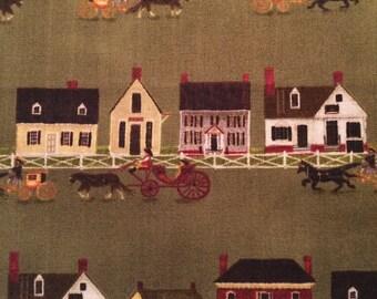 Folk Art by Colonial Williamsbrug for Windham Fabrics by the yard 31691 2