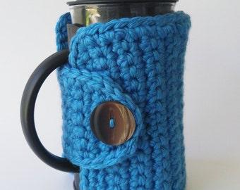 French Press Cozy - Coffee Pot Cozy - Coffee Press Cozy