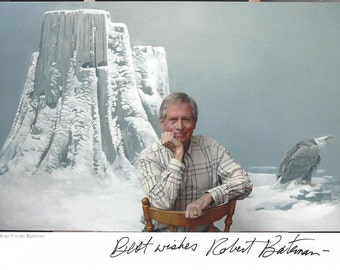 Robert Bateman AUTOGRAPHED 5x7 Photo (Signed in Black)