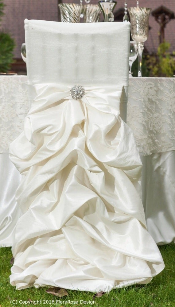 Wedding Dress Chair Cover