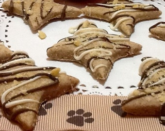 Dog Treats - Organic Peanut Butter Stars
