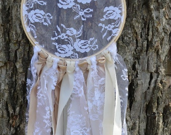 Whimsical Lace Dream Catcher