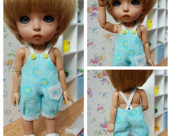 Blue romper for pukifee