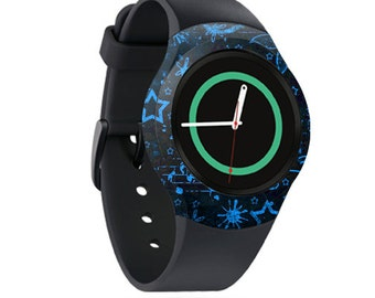 Skin Decal Wrap for Samsung Gear S2, S2 3G, Live, Neo S Smart Watch, Galaxy Gear Fit cover sticker Dream