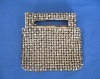 Rhinestone Hand Bag, Made in Czechoslovakia, AS IS