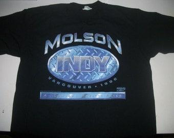 Molson INDY event shirt 1996 Vancouver B.C.
