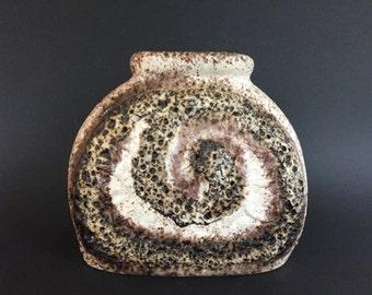 Dümler & Breiden  Vintage Mid Century Fat Lava Vase  from the 1970s West Germany.   WGP.