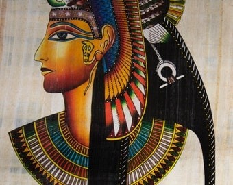 Egyptian art on papyrus or parchment. Without frame.