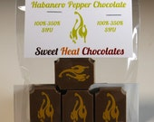 Habanero Pepper Milk Chocolate 4pc