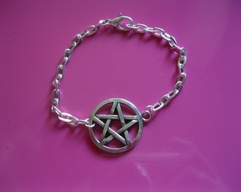 Jewelry star bracelet pentacle witch supernatural protection