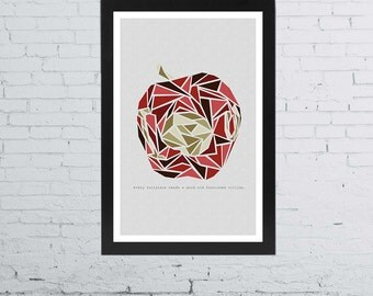 Moriarty - Sherlock BBC Minimalist Poster | 11 x 17 Inches