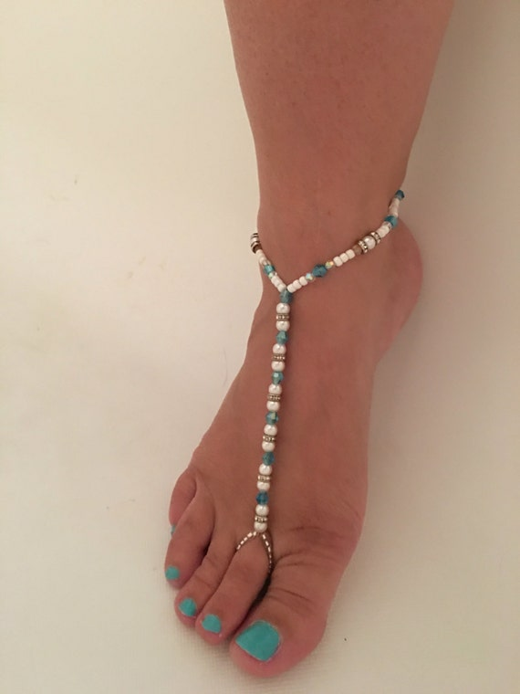 how to make barefoot wedding sandals