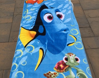 Finding Nemo Dori Fish Beach Towel - Personalized Beach Towel