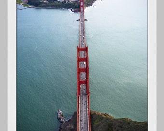 Golden Gate Bridge Aerial View