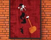 Minimalism Art - Harley Q...