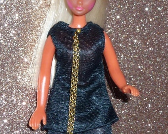 Black Cat outfit Topper Dawn and Palitoy Pippa fashion