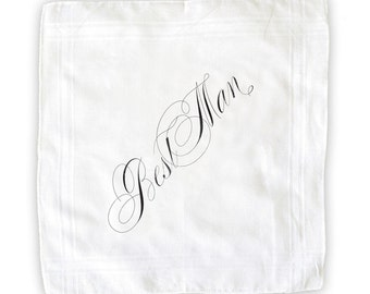 Best Man Handkerchief
