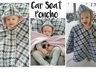 Car Seat Ponchos!!!  READY TO SHIP!!! Car seat covers!!  Winter Poncho --- Kids -- Babies --- Toddlers -- Car Seat Safety