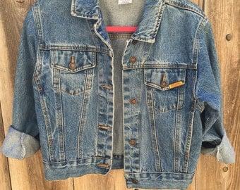 Vintage Jordache Jean Jacket: Size Small