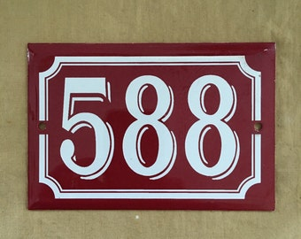 French house number 558 deadstock