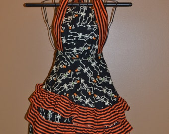 Gypsy Skeletons Apron