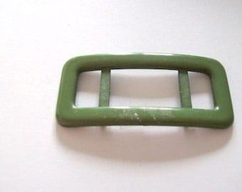 green buckle plastic buckle bag making buckle slider Size 6cm x 2.5cm