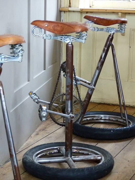 Upcycled Pedal Bike Stools