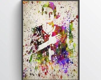 John Mayer Poster, John Mayer Print, John Mayer Art,Home Decor, Gift Idea