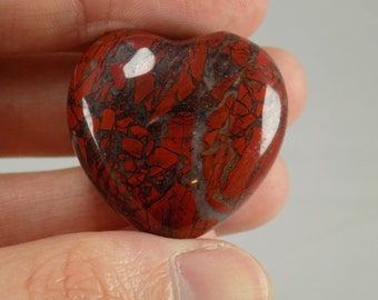 Brecciated Jasper Heart (.75 oz.)
