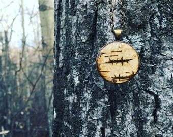 Bark Woodland Necklace