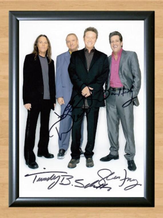 Glenn Frey Autographs : glenn frey the eagles guitarist signed by trendypostersau on etsy ~ Hamham.info Haus und Dekorationen